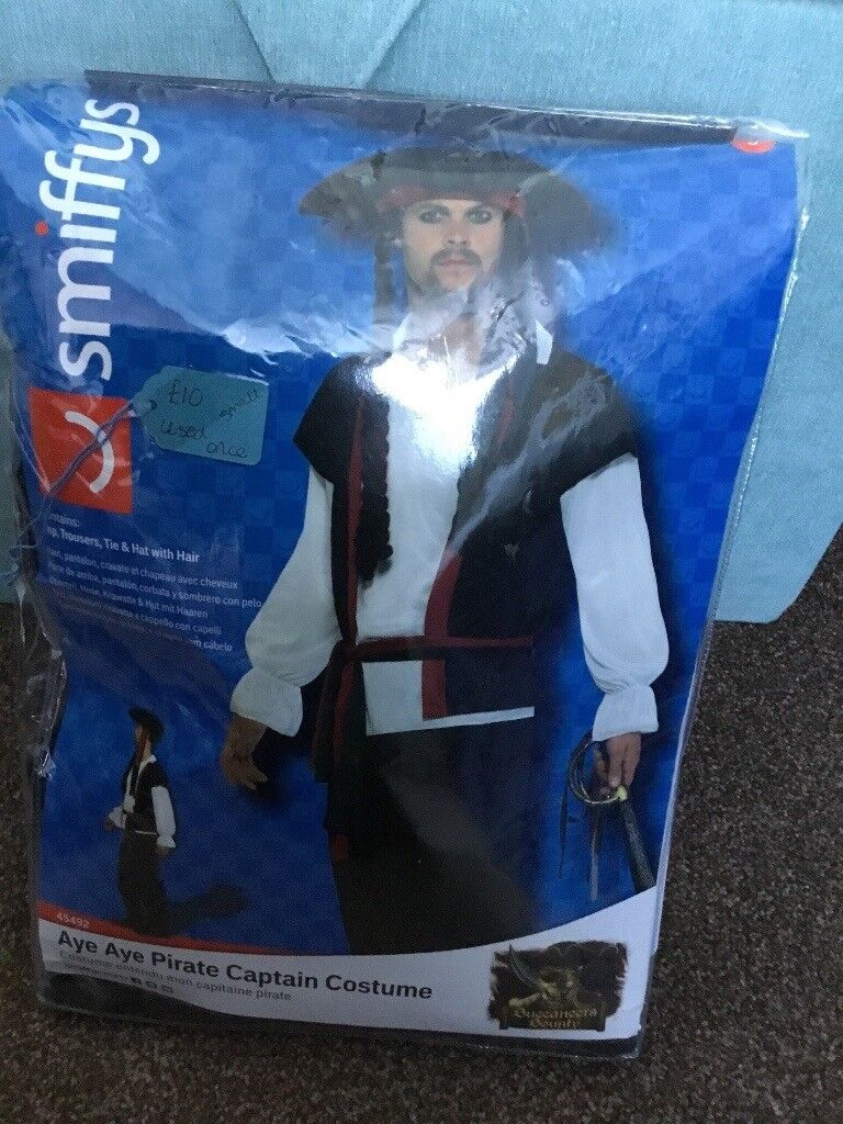 da159665c Pirate Costume worn once | in Totton, Hampshire | Gumtree