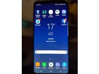 Unlocked samsung galaxy s8 plus and boxed.