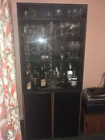 Glass display cupboard
