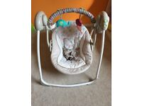 Bright Starts Cozy Kingdom Portable Swing (John Lewis Product)