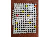 200+ Golf Balls - various brands inc Titleist, Callaway, Srixon, TaylorMade, Nike & Bridgestone