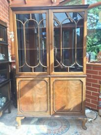 Bookcase / Display cabinet. Antique style