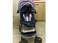 Baby pram with car seat ---IN GOOD CONDITION at very reasonable price £ 25