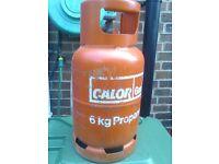 Calor gas bottle.6kg.full.