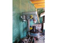 Bench Drill and Band Saw