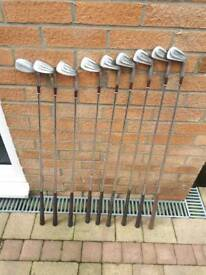 Set of golf clubs. New price