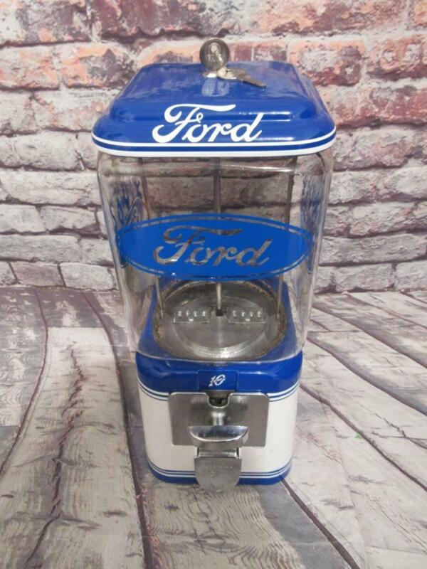 Ford build tough Vintage Acorn gumball machine candy machine man cave game room