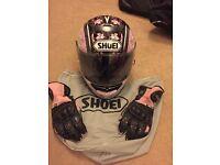 Shoei Raid 2 Helmet,Spada airflow gloves