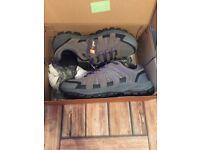 Size 5 Brand anew Hi Gear Walking Shoes