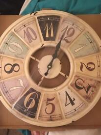 Next vintage style clock