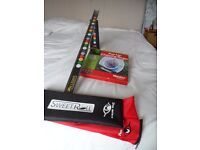 EyeLine Golf Sweet Roll Rail System Training Aid and Pop up Chipping Target. Brand new never used.