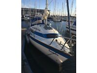 Newbridge Venturer 22ft sailing yacht 1988