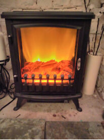 Beldray 1800W Electric Fire Log Burner Stove