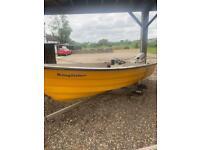 Kingfisher 14ft fiberglass boat