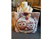 New Owl tote bag