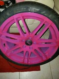 Rs4 alloys 19s 225 ono may swap quick sale