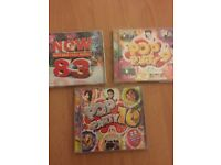 3 POP CDs