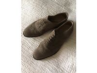 Reiss grey suede shoes