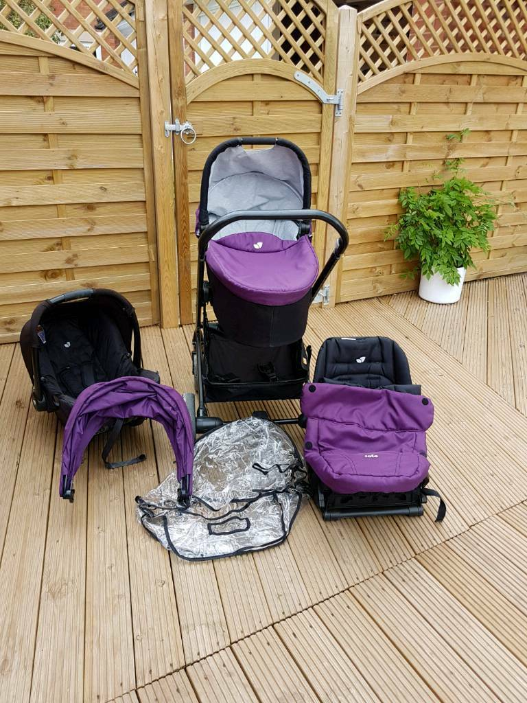 Joie 3 In 1 travel system.