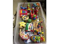 FREE Boxes of Baby & Toddler Toys, Games, Music, Puzzles, Duplo, Tomy, Bath Toys etc