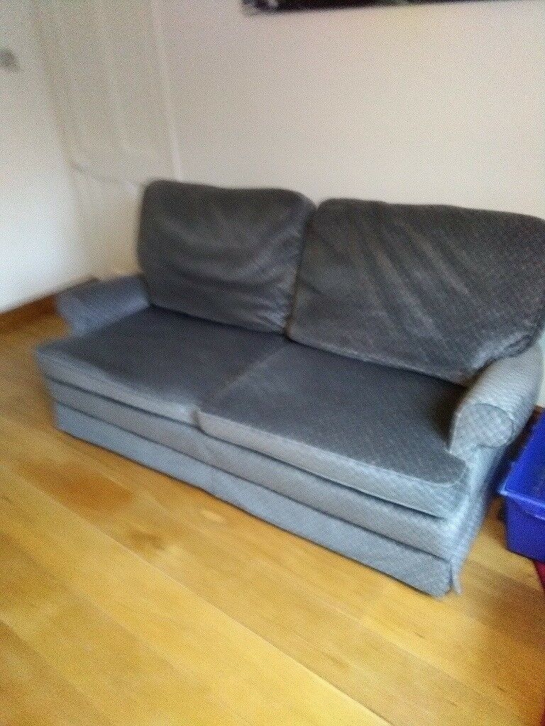 Parker Knoll Sofa Bed And Matching Arm Chair In