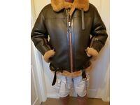 Aviation Leathercraft Irvine flying jacket