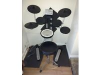 Roland HD-1 Electronic Drum Kit, v-drums with stool and monitor