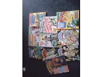 Beano and 2000AD comic collection's dating from 1984 to 1988