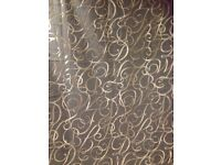 Curtains brand new 228cm by 228cm