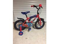 Spider-Man kids bike