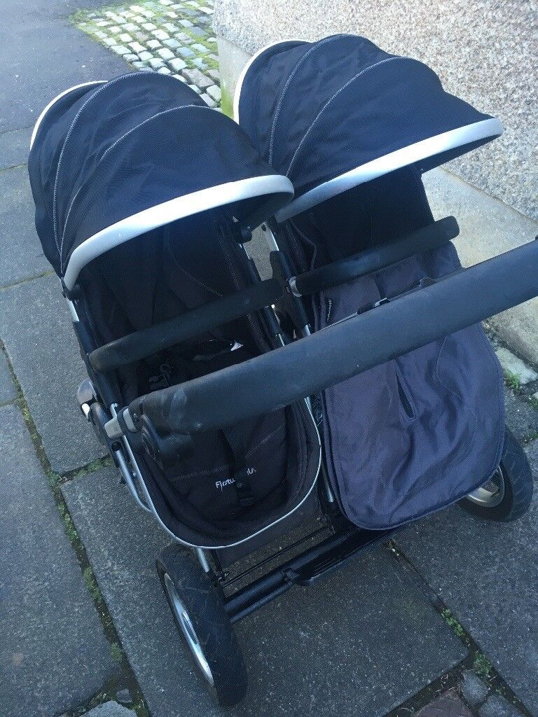 First wheels double pram