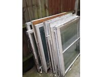 Free sash Windows ( no casings ) must go today