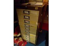 Bisley 10 draw A4 storage cabinet