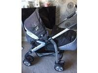 Silver cross Pushchair and travel system