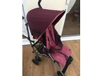 Mama and papas swirl 2 pushchair w/ accessories