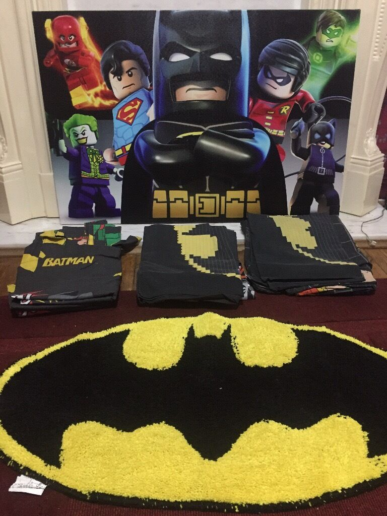 Next Lego Batman Bedding Curtains Run Picture In