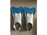 Swiming Finns for swim training zoggs brand 7-8 UK size 41-42 EU