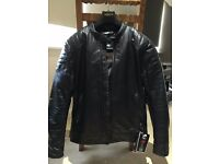 Furygan Russel leather motorcycle jacket NEW