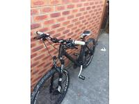 "Cube ltd hardtail 26"" mens mountain bike 20"" frame hydraulic disk brakes lockout suspension"