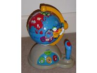 Vtech Fly and Learn Globe - 3-5 Years