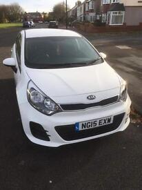 Kia Rio SR7 5dr 2015 excellent condition! 2 years free servicing included!