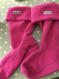 Girls Hunter Wellie Socks Shoe Size 13-2