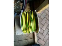 10mm earth electrical cable - 40m approx