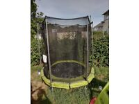 Twist exit trampoline 6 foot perfect for small garden