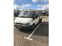 FORD TRANSIT TIPPER FOR SALE - 2006 - MOT UNTIL JULY 2018