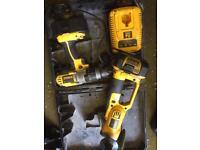 Dewalt grinder 18v lithium +drill