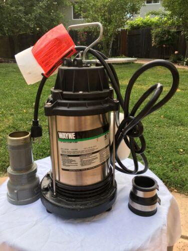Wayne 1 HP SS/CI Sump Pump