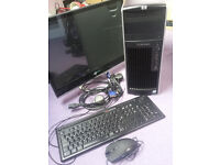 Windows 7 HP 8 Core 18.64GHz Gaming Tower PC Computer - 16GB RAM - 2000GB HDD