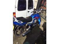 Lexmoto arrow 125 racing blue 2012