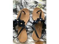3 x summer sandals size 6